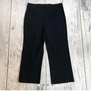 Vintage 70's plus size pants black striped